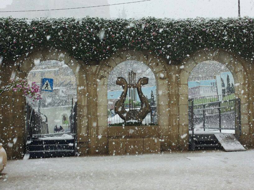 Snow in the City of David