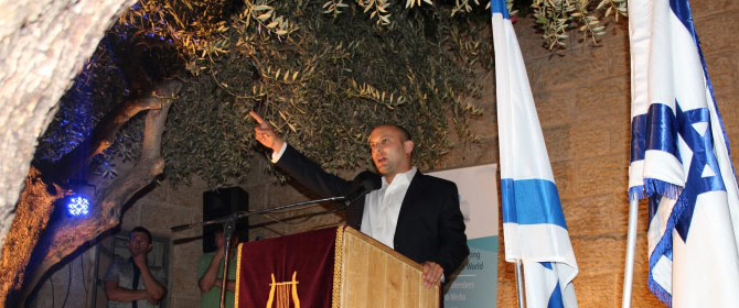 Bennett at City Of David