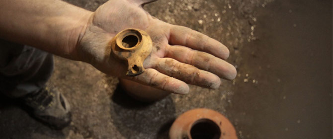 Two Thousand Year Old Evidence of the Siege in Jerusalem