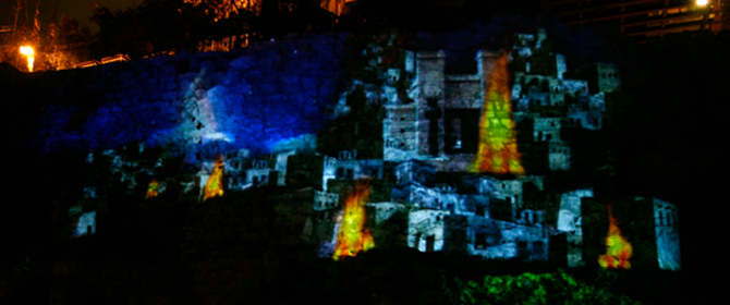 "Enchanted Jerusalem- ""Light up the Night"" Evening Tours in the City of David"